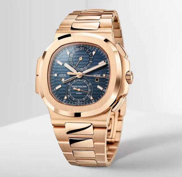 Đồng hồ Patek Philippe Nautilus Travel Time Chronograph 5990 / 1R-001