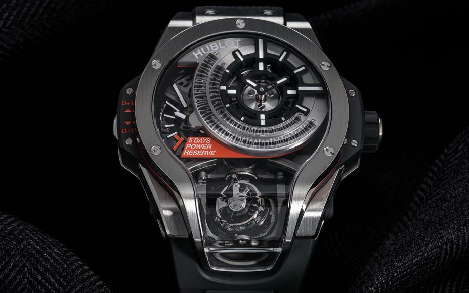Chiếc đồng hồ Hublot MP-09 Tourbillon Bi-Axis độc nhất vô nhị