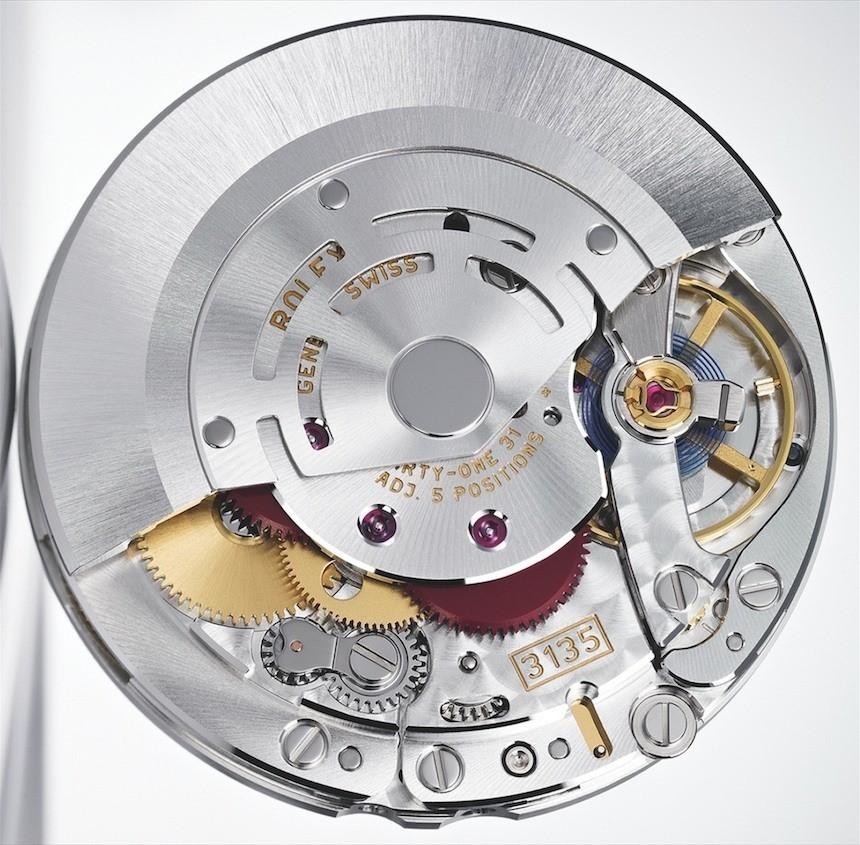 Cận cảnh bộ máy Rolex 3135 – huyền thoại của thương hiệu Rolex