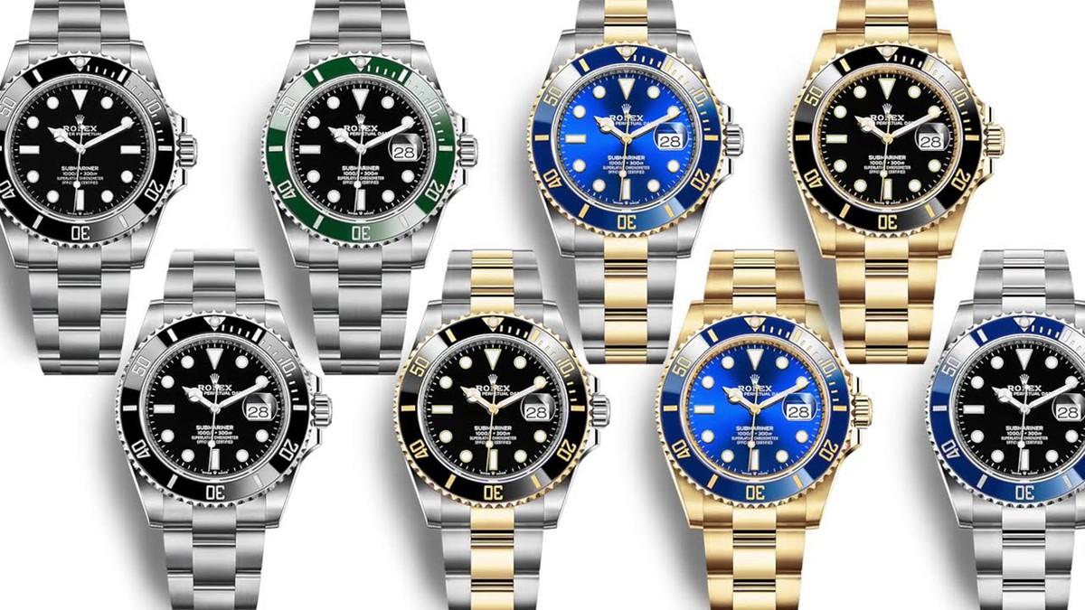 TỔNG HỢP các loại đồng hồ Rolex có mặt trên thị trường hiện nay