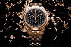 Lấp lánh với chiếc đồng hồ vàng Patek Philippe 5270 / 1R