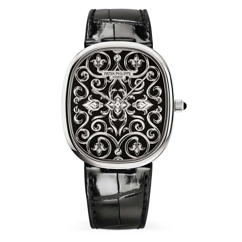 Chiếc đồng hồ độc đáo Patek Philippe Golden Ellipse 5738 / 51G